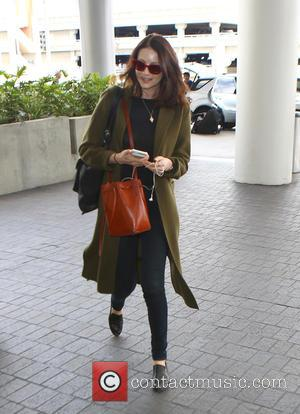 Caitriona Balfe - Caitriona Balfe arrives at Los Angeles International Airport (LAX) to catch a flight at Los Angeles International...
