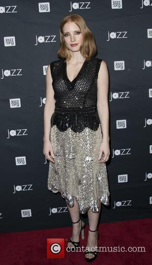 Jessica Chastain - Jazz at Lincoln Center Annual Gala: 'Jazz and Broadway' - Arrivals at Frederick P. Rose Hall, Jazz...