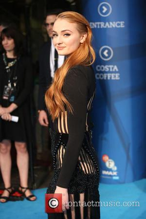 Sophie Turner - X-Men Apocalypse Fan Screening held at the BFI Imax - London, United Kingdom - Monday 9th May...