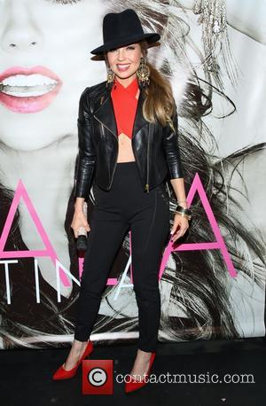 Thalia - Thalia attends a signing at the Hard Rock Cafe in New York - New York, United States -...