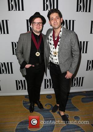 Patrick Stump and Joe Trohman Of Fall Out Boy