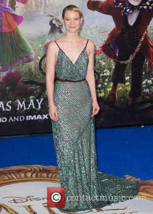 Mia Wasikowska - The European Premiere of 'Alice Through The Looking Glass' held at the Odeon Leicester Square - Arrivals...