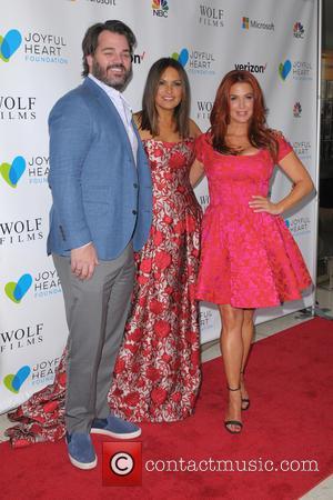Shawn Sanford, Mariska Hargitay and Poppy Montgomery