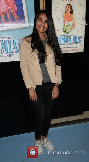 Sair Khan - Celebrities arrive at the Palace Theatre Manchester for Mamma Mia Press Night. at Palace Theatre - Manchester,...
