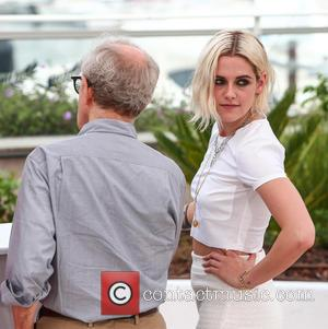 Kristen Stewart and Woody Allen
