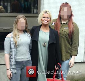 Kerry Katona, Lilly-sue Mcfadden and Molly Marie Mcfadden