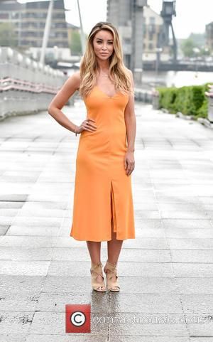 Lauren Pope - Lauren Pope photocall ahead of the TOWIE star and entrepreneur delivering a speech at The Business Show...