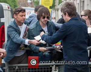 Noel Gallagher , singer song-writer - Celebrities arrive at the BBC Radio 4 Maida Vale Studios at Maida Vale Studios...