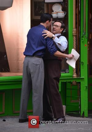 Kevin Spacey and Nicholas Hoult