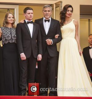 Jodie Foster, Jack O'connell, George Clooney and Amal Clooney