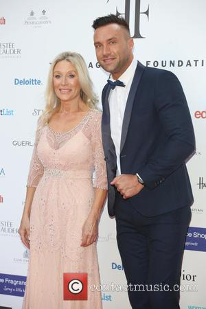 Angie Best and Calum Best