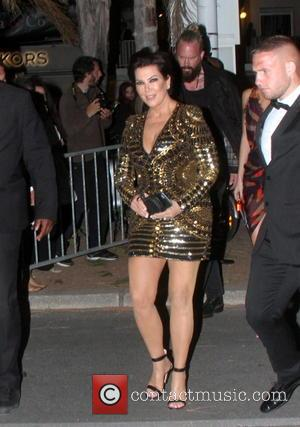 Kris Jenner - Kendall Jenner arrives with her mom Kris Jenner for the Magmun Party in Cannes. - Cannes, France...