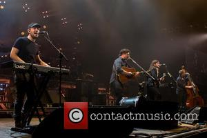 Mumford & Sons - Mumford and Sons performing a sold out gig at Forum at Forum - Copenhagen, Denmark -...
