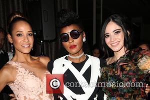 Dania Ramirez, Janelle Monae and Edy Ganem