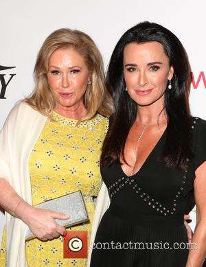 Kathy Hilton and Kyle Richards