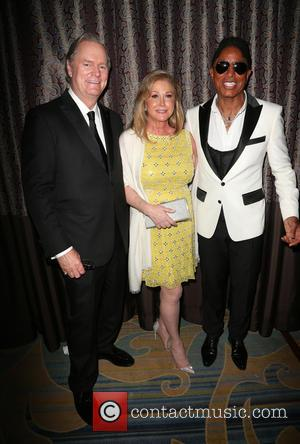 Richard Hilton, Kathy Hilton and Jermaine Jackson