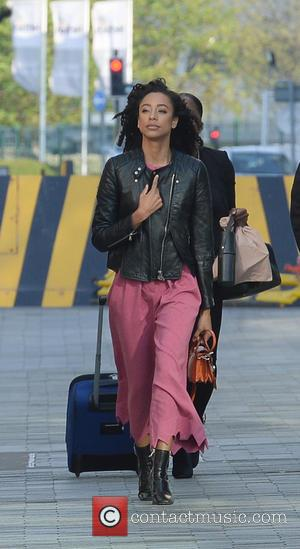 Corinne Bailey Rae - Corinne Bailey Rae leaving the BBC Breakfast Studios at Media City UK, Manchester - Manchester, United...