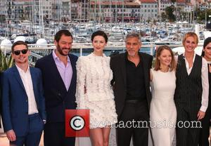 Jack O'Connell, Dominic West, Caitriona Balfe, George Clooney, Jodie Foster , Julia Roberts - 69th Cannes Film Festival - 'Money...