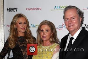 Paris Hilton, Kathy Hilton and Richard Hilton