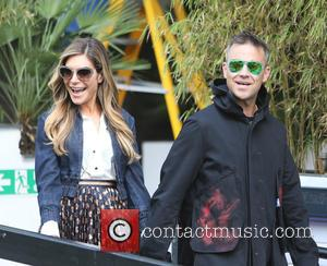 Robbie Williams and Ayda Field
