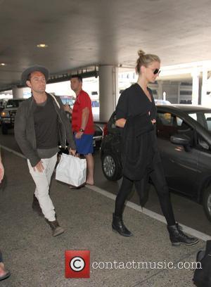 Jude Law and Phillipa Coan