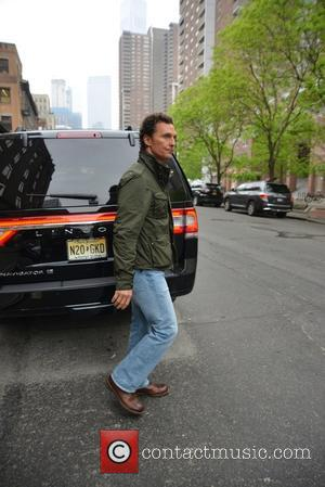 Matthew McConaughey - Matthew McConaughey leaves The Greenwich Hotel in Tribeca - Manhattan, New York, United States - Friday 13th...