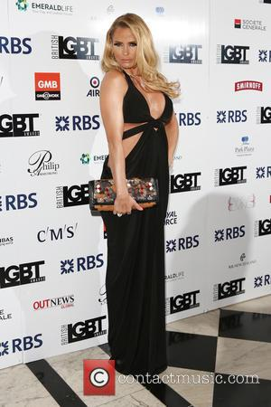 Katie Price - British LGBT Awards 2016 - Arrivals - London, United Kingdom - Friday 13th May 2016