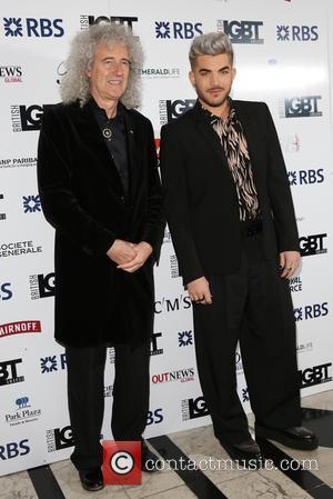 Brian May , Adam Lambert - British LGBT Awards 2016 - Arrivals - London, United Kingdom - Friday 13th May...