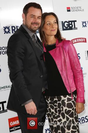 Danny Dyer and Luisa Bradshaw-white