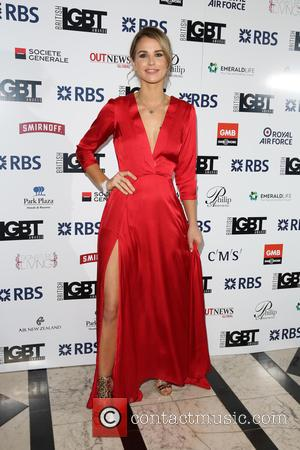Vogue Williams - British LGBT Awards 2016 - Arrivals - London, United Kingdom - Friday 13th May 2016