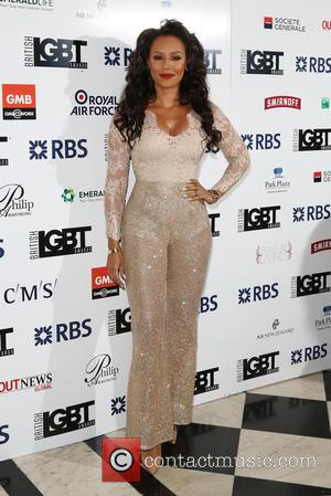 Mel B , Melanie Brown - British LGBT Awards 2016 - Arrivals - London, United Kingdom - Friday 13th May...