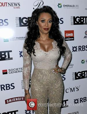 Mel B - British LGBT Awards 2016 - Arrivals at Grand Connaught Rooms - London, United Kingdom - Friday 13th...