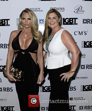 Katie Price - British LGBT Awards 2016 - Arrivals at Grand Connaught Rooms - London, United Kingdom - Friday 13th...