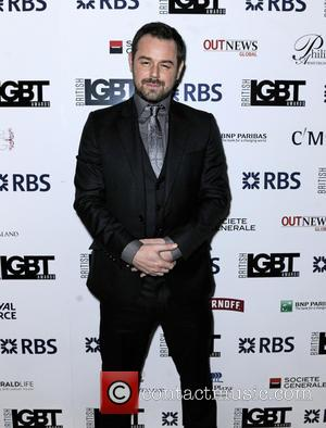 Danny Dyer - British LGBT Awards 2016 - Arrivals at Grand Connaught Rooms - London, United Kingdom - Friday 13th...