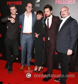 Joseph Gilgun, Ruth Negga and Dominic Cooper