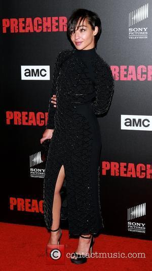 Ruth Negga - Premiere of AMC's 'Preacher' at Regal LA Live Stadium 14 - Arrivals at LA Live - Los...