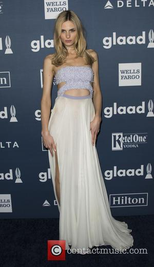 Andreja Pejic - 27th Annual GLAAD Media Awards at The Waldorf=Astoria - Arrivals at Waldorf Astoria Hotel - New York,...