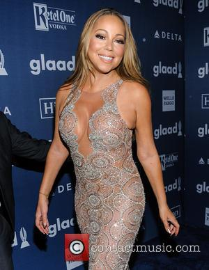 Mariah Carey - 27th Annual GLAAD Media Awards at The Waldorf=Astoria - Arrivals - New York, New York, United States...