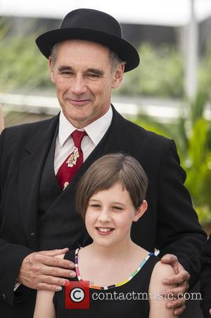 Mark Rylance and Ruby Barnhill