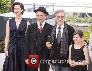 Rebecca Hall, Mark Rylance, Steven Spielberg and Ruby Barnhill
