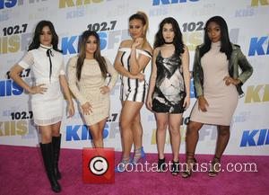 Fifth Harmony Band - 102.7 KIIS FM's Wango Tango 2016 at StubHub Center - Arrivals - Los Angeles, California, United...