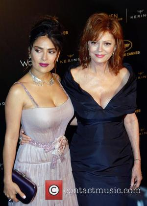 Susan Sarandon , Salma Hayek - 69th Cannes Film Festival - Women in Motion Gala Awards - Arrivals at Cannes...