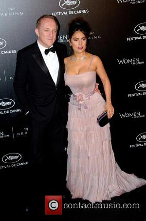 Salma Hayek: 'Healthy Sex Life Is A Side Affect To A Happy Marriage'