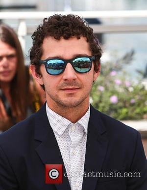 Shia Labeouf Hitchhiking For New Art Project