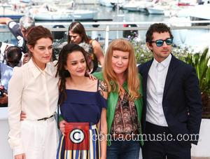 Riley Keogh, Sasha Lane, Andrea Arnold and Shia Labeouf