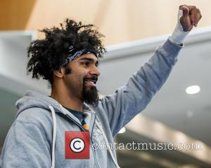 David Haye and British Former World Champion Boxer In Two Weight Classes.