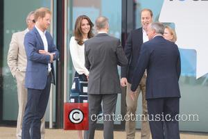 Duchess Of Cambridge, Duke Of Cambridge and Prince Harry
