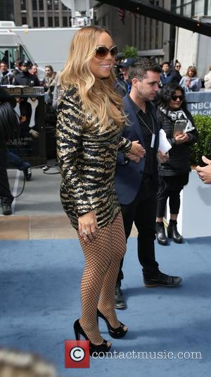 Mariah Carey - the 2016 NBCUNIVERSAL Upfront at Radio City Music Hall on May 16, 2016 in New York City....