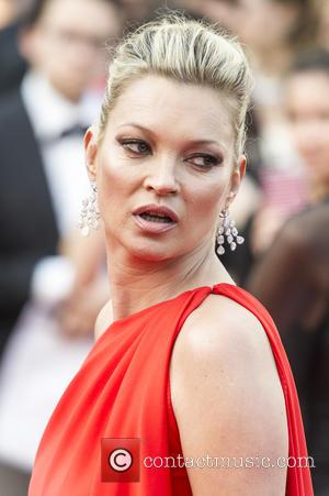 Kate Moss - Celebrities  attends the premiere for
