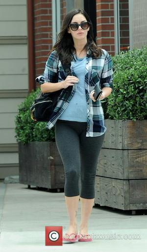 Megan Fox - Pregnant Megan Fox celebrates her 30th birthday by herself at Cafe Gratitude in Venice Beach - Venice...